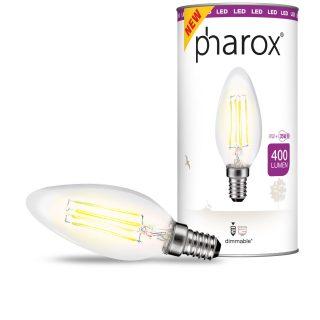 Pharox-Candle-4W-Clear-2700K-105012